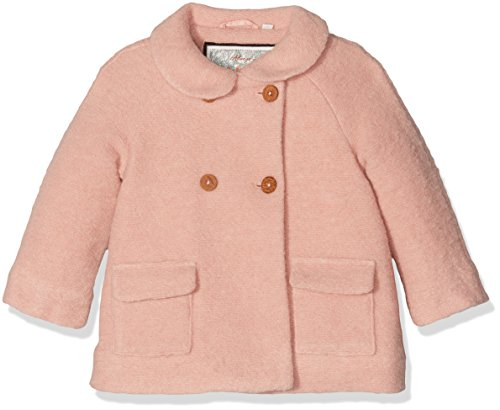 Mexx Mini Girls Coat, Cappotto Bambina, Rosa (Misty 128), 104