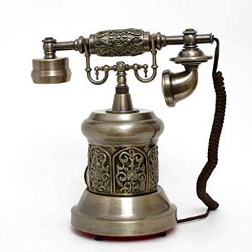 Ldlzjdh Festnetz Vintage Antikes Telefon Festnetztelefon Old Fashioned Rotary Festnetzanschluss (Farbe: A) Festnetz (Farbe : B) -