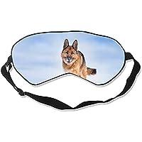 Schäferhund, niedliche Schlafmaske, Therapie für Schlaflosigkeit, geschwollene Augen, super weich und leicht,... preisvergleich bei billige-tabletten.eu