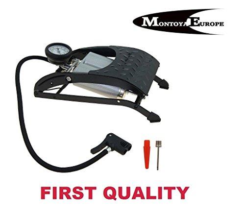 Preisvergleich Produktbild Fußpumpe/ Kolbenpumpe, für Auto/ Fahrräder/ Bälle/ Matratzen