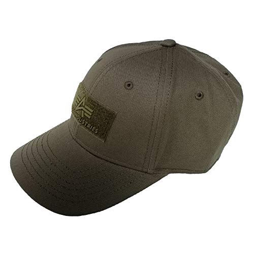 Alpha Industries VLC Cap Streetwear Basecap verstellbar, Farbe:Dark Green