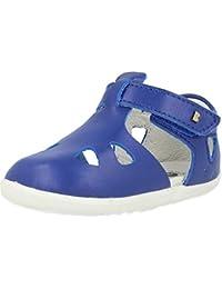 Bobux Step-Up Zap Azul (Blueberry) Cuero Infantil Pescador Sandalias
