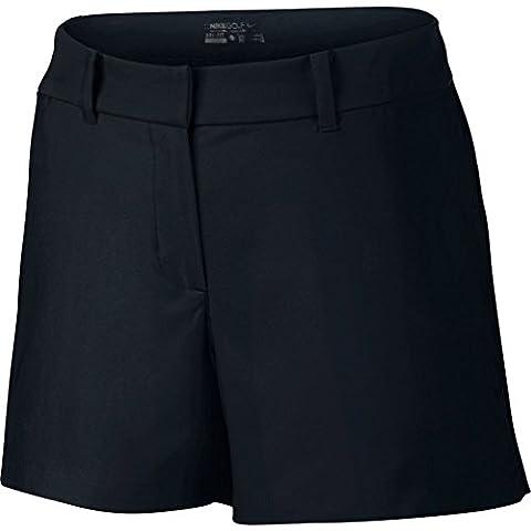 Nike Tournament Short Pantalon court pour femme, Tournament Short, Noir foncé