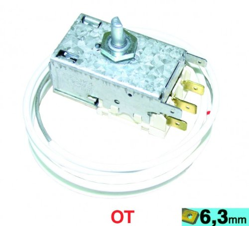 Thermostat K59-L1234 Ranco, OT! Kühlthermostat für 3-Sterne-Kühlschränke mit automatischer Abtauung -