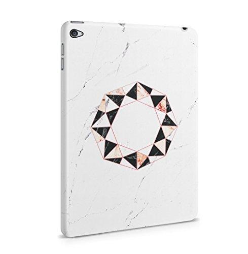 Onyx & Rose Quartz Octagon On White Marble Stone Dünne Rückschale aus Hartplastik für iPad Mini 4 Tablet Hülle Schutzhülle Slim Fit Case Cover