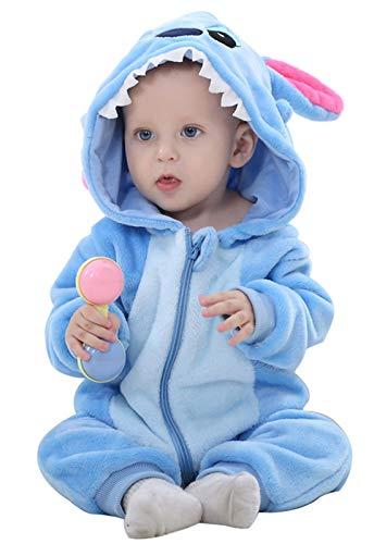 Baby Overall Flanell Cartoon Tier Onesies Atmungs Baby Pullover Neugeborenen Tier Weiche Warme Kleidung Outfits Strampler Für 0-27 Monate Kinder Monat Onesies