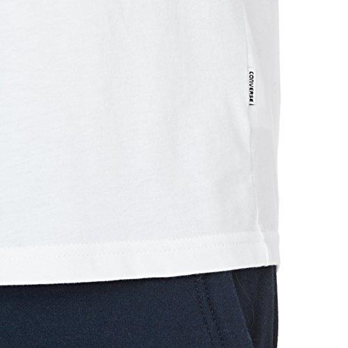 T-Shirt Converse Rubber 102wht