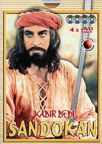 Sandokan 4 DVD - Komplette Serie Kabir Bedi Philippe Leroy Carole Andre (KEINE DEUTSCHE SPRACHE)