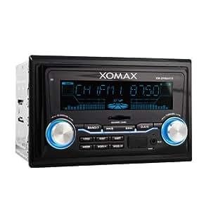 xomax xm 2rsu415 autoradio mit usb anschluss und sd. Black Bedroom Furniture Sets. Home Design Ideas