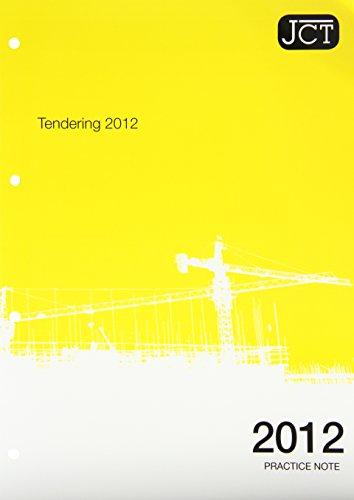 Practice Note - Tendering 2012