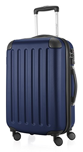 68c3422c439a HAUPTSTADTKOFFER - Spree - Carry on luggage Suitcase Hardside Spinner  Trolley Expandable. 55 cm, TSA, Darkblue