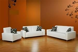 sofa garnitur janus 3 teilig federkern pflegeleicht k che haushalt