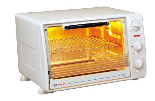 Bajaj Majesty 2200 T 22-Litre 1200-Watts Oven Toaster Grill (White)