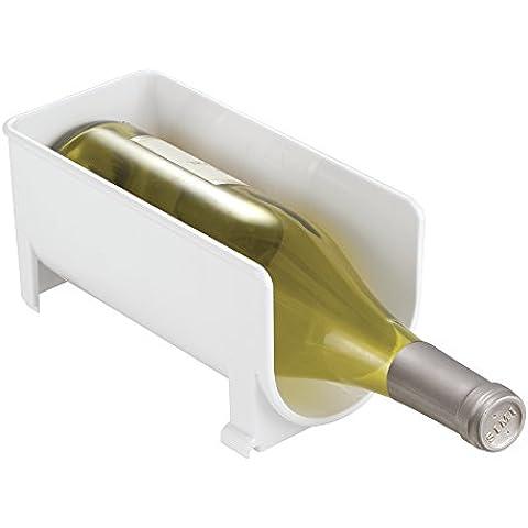 mDesign portabottiglie vino – portabottiglie in plastica