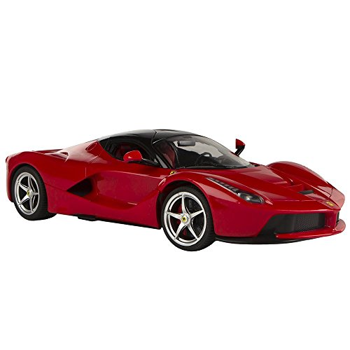 Rastar - Ferrari LaFerrari, coche teledirigida, escala 1:14, color rojo (ColorBaby 41120)