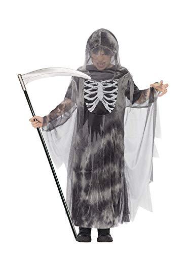Smiffys Kinder Jungen Gruseliger Ghul Kostüm, Robe mit Kapuze, Größe: T (Alter 12+ Jahre), - 1 Jahr Alten Jungen Kostüm Großbritannien
