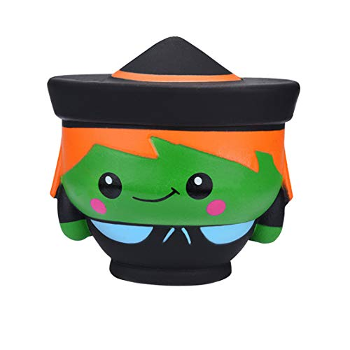 (Happy Event Kawaii Squishy Halloween Hexe Puppe duftende Squishies Langsam Steigende Kinder Stress Relief Spielzeug)