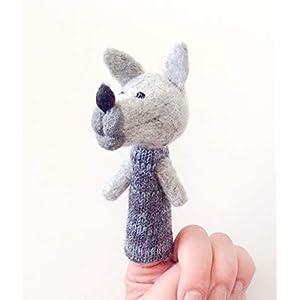 Fingerpuppe der Wolf