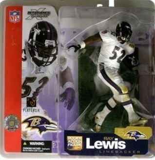 McFarlane Toys NFL Sports Picks Series 5 Action Figure Ray Lewis (Baltimore Ravens) White Jersey by Unknown Ray Lewis Jersey