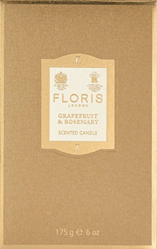 Floris London Grapefruit & Rosemarin, Duftkerze, 175 g