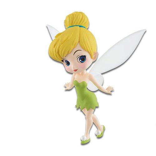 Figura de Colección TRILLI Campanilla de Peter Pan 7cm Serie QPOSKET Petit Banpresto Disney Characters Tinkerbell