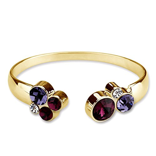 park-avenue-armspange-nugget-multicolor-violett-made-with-crystals-from-swarovski