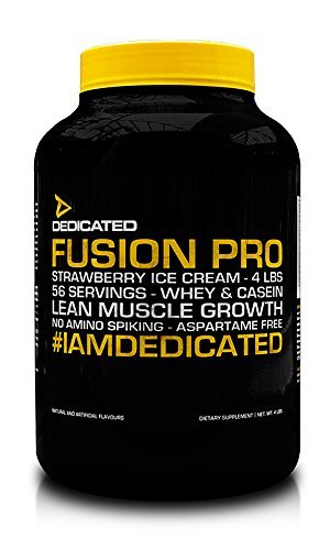 Cream-protein-pulver Ice Vanilla (Fusion Pro V2-Vanilla Ice Cream)