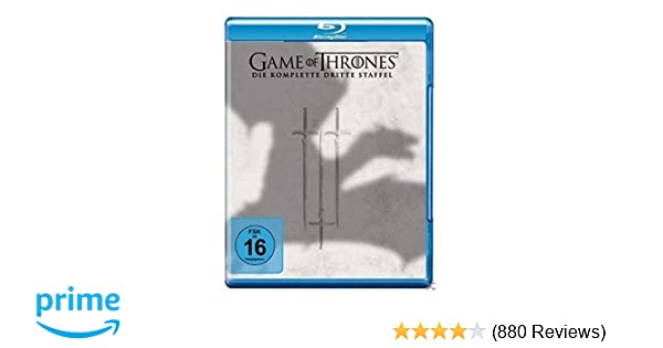 Game of Thrones - Die komplette 3. Staffel [Blu-ray]: Amazon.de ...