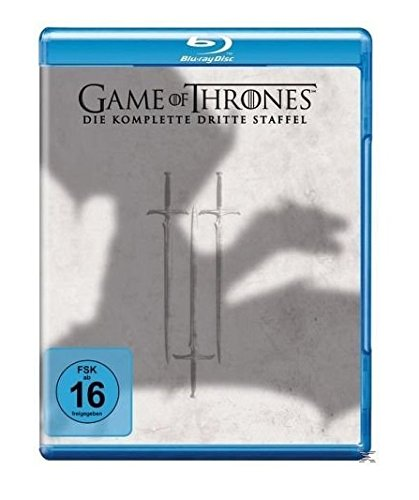 game of thrones staffel buecher Game of Thrones - Die komplette 3. Staffel [Blu-ray]