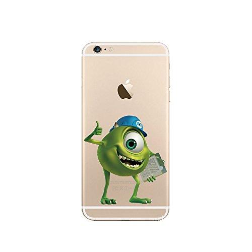 Disney Monster Uni. Transparent Coque souple en TPU pour Apple iPhone 5/5S/5C,, 6/6S & 6plus Carreaux * * * * * * * * OFFRE SPÉCIALE * * * * * * * *, plastique, MU2, Apple iPhone 6