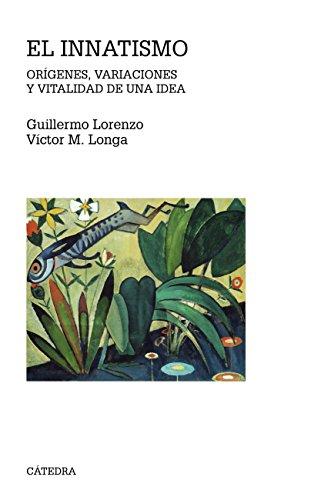 El innatismo (Teorema. Serie Mayor) por Guillermo J. Lorenzo González