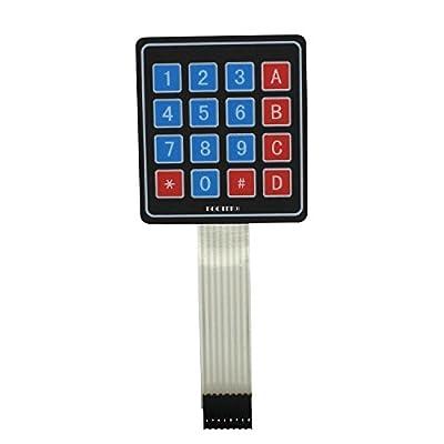 MatLogix 4x4 Matrix Membrane Keypad for Arduino