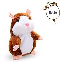 Talking Hamster Plush Toy Electronic Pet Talking ripete quello che dici per i bambini (2)