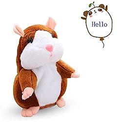 Talking Hamster Plush Toy...