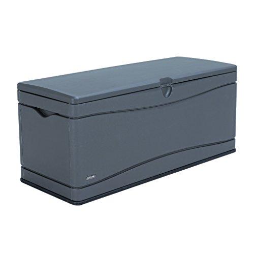 Lifetime Gartenbox Kissenaufbewahrung Kissenbox XXL 495 l