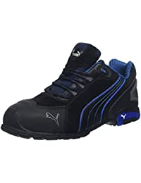 e2b30dd87e Puma Safety Footwear Mens Rio Low Suede S3 Rated Toe Cap Safety Shoes