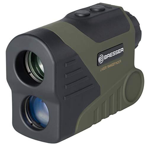 Bresser Rangefinder Entfernungsmesser und Geschwindigkeitsmesser WP/OLED 6x24 800 Meter mit Lasermessung, OLED Display mit Live Mode im Sichtfeld und beleuchtetem Fadenkreuz