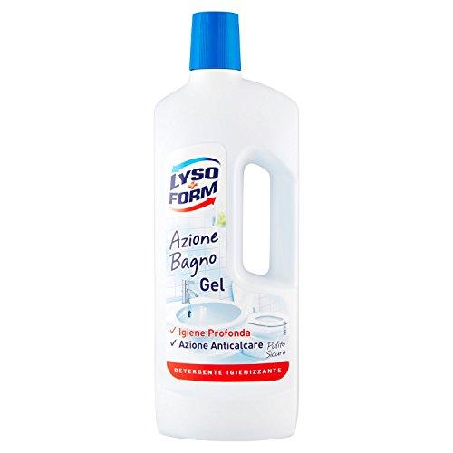 Lysoform–Limpiador desinfectante en gel para baño–6unidades de 750ml [4500ml]