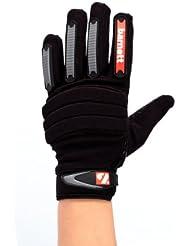 Barnett FKG-02 - Guantes de fútbol americano, color negro Talla:mediano