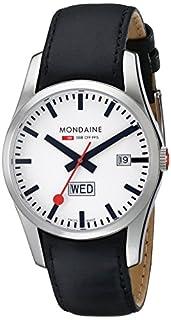 Mondaine Retro Gents Stainless Steel Day-Date (B001W19MU0) | Amazon price tracker / tracking, Amazon price history charts, Amazon price watches, Amazon price drop alerts