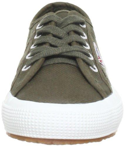 Superga 2750-JCOT CLASSIC S0003C0 Unisex-Kinder Sneaker Grün (Military green 595)