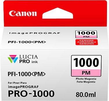 Canon PFI-1000 PM original Tintenpatrone  Foto Magenta para Impresora Fotográfica PRO-1000 (Fotos Impresoras De)