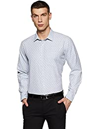 Amazon Brand - Symbol Men's Checkered Regular Fit Formal Shirt