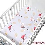 PENVEAT 100% Baumwolle Kinderbett Spannbetttuch Weiche Babybett Matratzenbezug Schutz Und Elastische Bettlaken Cartoon Neugeborenen Bettwäsche, CLS0035-2
