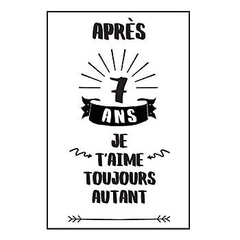 Anniversaire De Mariage Carnet De Notes: Idée Cadeau 7 Ans De Mariage, Pour Elle, Pour Lui, Original Et Pratique, Noce De Laine