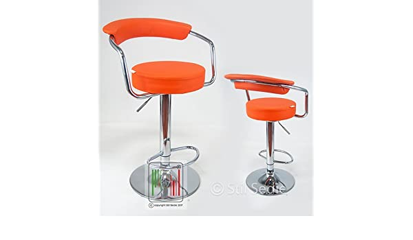Stil sedie due sgabelli cucina e sale slot con altezza