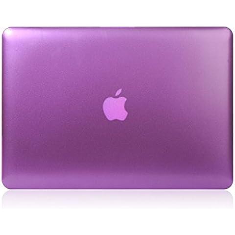 Green House Coque de Protection pour Apple MacBook Air 13.3 Pouces Violet