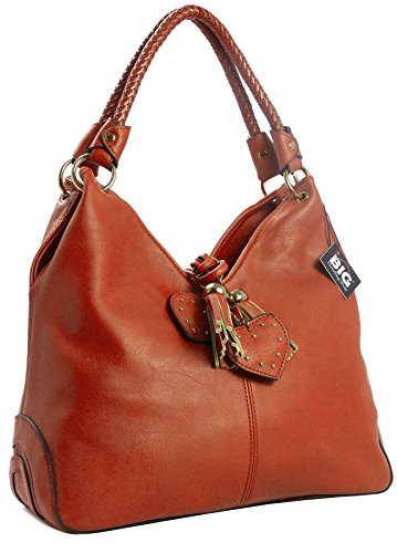 Big Handbag Shop - Hobo borse donna Orange