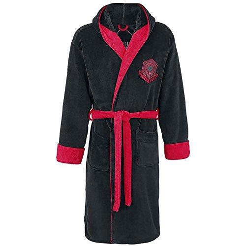 Ufficialmente autorizzata maschile Star Wars Kylo Ren Design adulto Fleece vestaglia
