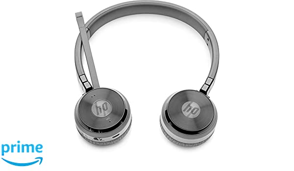 8f619923436 Amazon.in  Buy HP W3K09AA ABB UC Wireless Duo Headset (Black) Online at Low  Prices in India